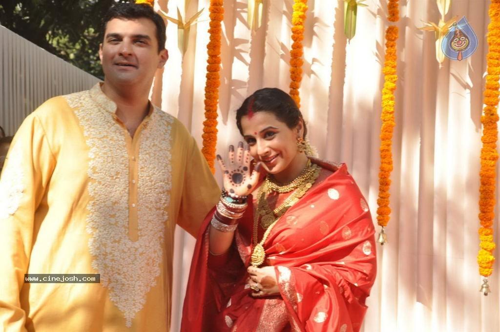 Vidya Balan Wedding Ceremony Photo 78 Of 83