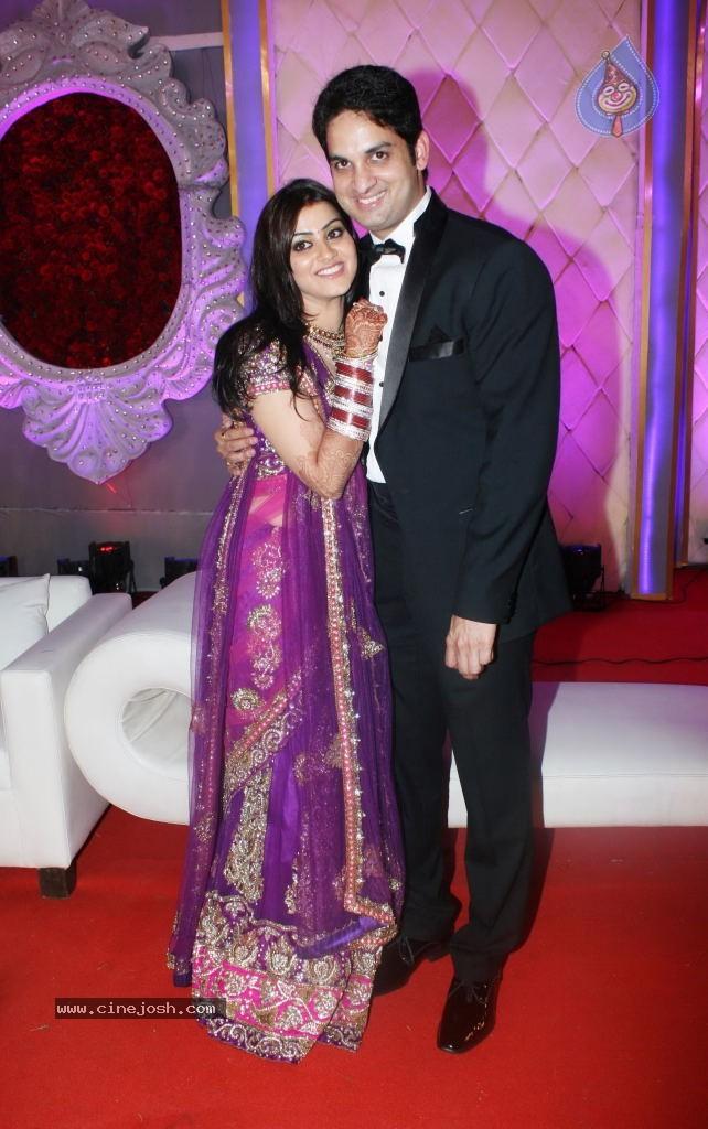 Vikaas Kalantri And Priyanka Chibber Wedding Reception