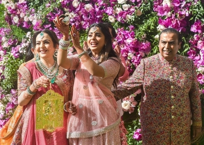 Akash Ambani and Shloka Mehta Wedding Reception Photos - 1 of 40