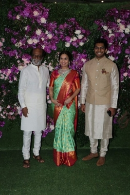 Akash Ambani and Shloka Mehta Wedding Reception Photos - 2 of 40