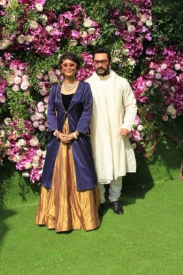 Akash Ambani and Shloka Mehta Wedding Reception Photos - 9 of 40