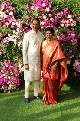 Akash Ambani and Shloka Mehta Wedding Reception Photos - 12 of 40