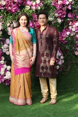 Akash Ambani and Shloka Mehta Wedding Reception Photos - 13 of 40
