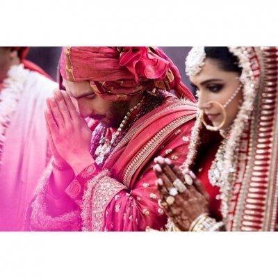 Deepika and Ranveer Wedding Celebrations - 2 of 16