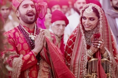 Deepika and Ranveer Wedding Celebrations - 3 of 16
