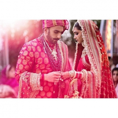Deepika and Ranveer Wedding Celebrations - 15 of 16