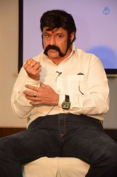 Balakrishna Interview Images