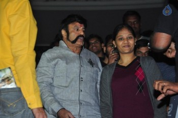 Celebrities at Gautamiputra Satakarni Show