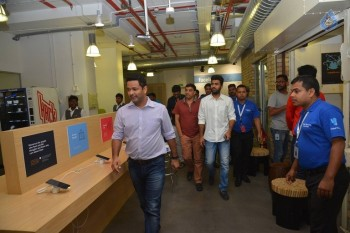 Dil Raju and Sharwanand at Facebook Office
