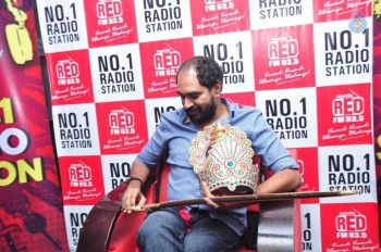 Director Krish at Red FM Studio