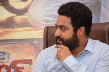 Jr NTR Janatha Garage Interview Photos :30-08-2016