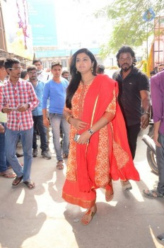 Shatamanam Bhavati Team at Sandhya Theater