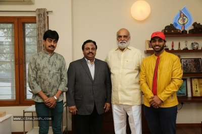 4 Letters Movie Teaser Launched By K Raghavendra Rao - 2 of 9