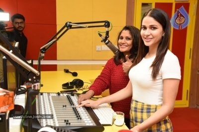 Arjun Suravaram Movie Song Launch at Radio Mirchi - 3 of 21