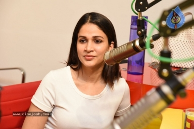 Arjun Suravaram Movie Song Launch at Radio Mirchi - 16 of 21
