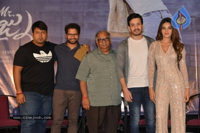 Mr Majnu Movie Press Meet - 5 of 29