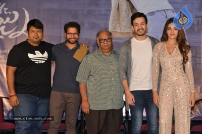 Mr Majnu Movie Press Meet - 10 of 29