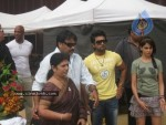 Ram Charan Birthday Celebrations in Orange Sets - 1 of 14