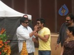 Ram Charan Birthday Celebrations in Orange Sets - 3 of 14