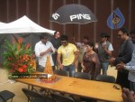 Ram Charan Birthday Celebrations in Orange Sets - 7 of 14