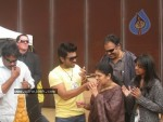 Ram Charan Birthday Celebrations in Orange Sets - 8 of 14