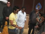 Ram Charan Birthday Celebrations in Orange Sets - 12 of 14