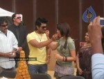 Ram Charan Birthday Celebrations in Orange Sets - 13 of 14