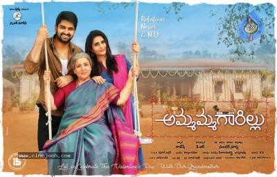 Ammagaarillu Movie First Look Posters and Photos