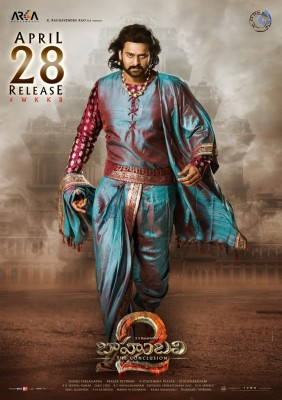 Baahubali 2 Latest Poster and Photo