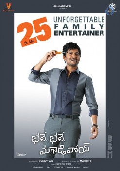 Bhale Bhale Magadivoy 25 Days Posters