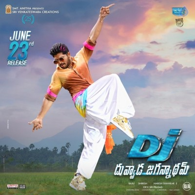 DJ Movie Release Date Poster and Photo