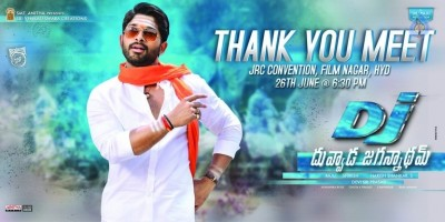 DJ Movie Thank You Meet Date Poster