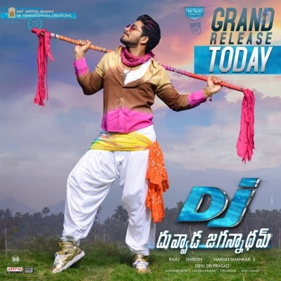 Duvvada Jagannadham Releasing Today Wallpapers