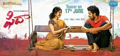 Fidaa Movie Teaser Release Date Poster