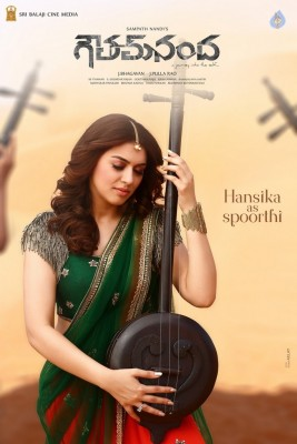 Hansika as Spoorthi in Gautham Nanda