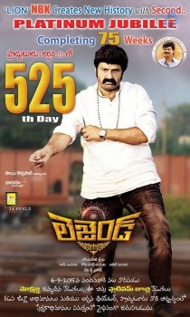 Legend 525th Day Poster