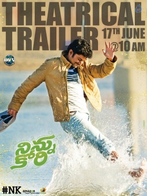 Ninnu Kori New Poster and Still