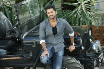 Nithiin Stills in A Aa Movie