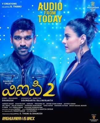 VIP 2 Movie Audio Launch Posters