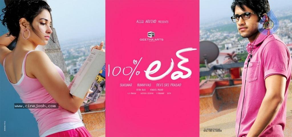 Faaqidaad : 100 percent love telugu movie video songs
