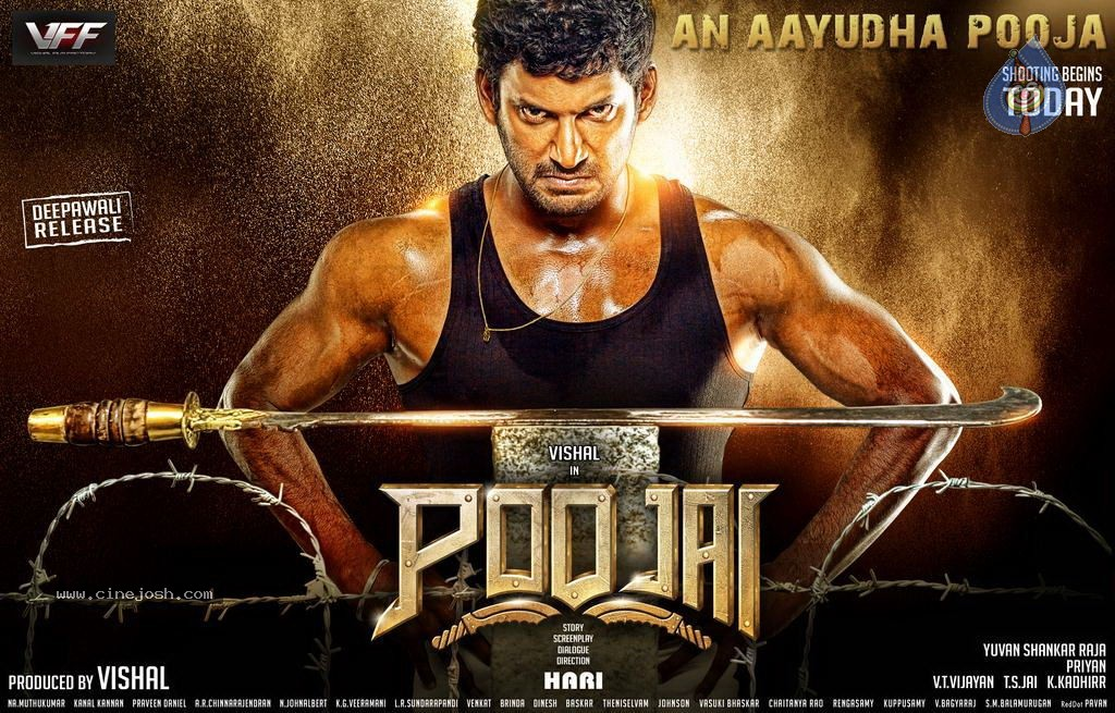 kmhouseindia: ''Poojai'' Tamil Film Poojai Tamil Movie