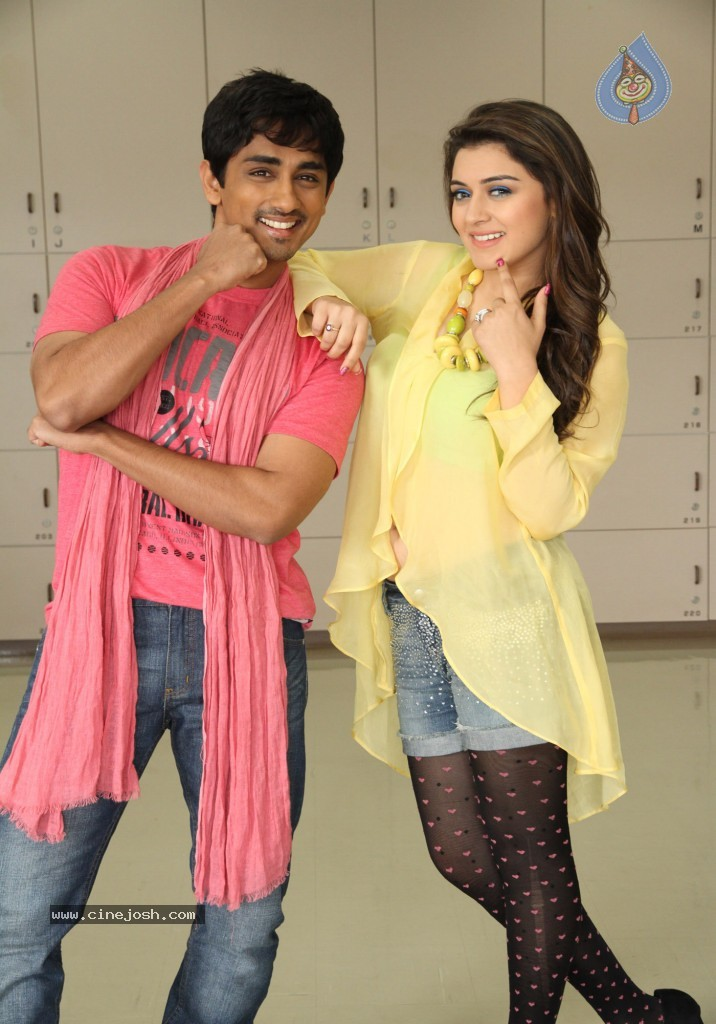 Hansika Hot Stills Something Movie Siddharth