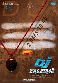 Dj Movie 2 Days To go Poster - 1 of 1