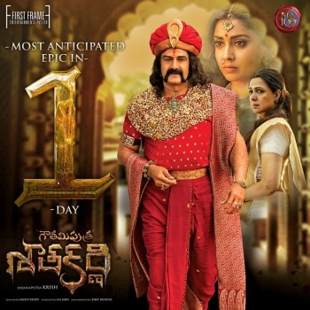 Gautamiputra Satakarni 1 Day to go Posters - 2 of 2