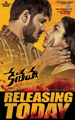 Keshava Release Today Posters - 1 of 2