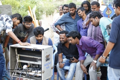 Seema Raja Movie Working Stills - 4 of 35