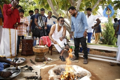 Seema Raja Movie Working Stills - 16 of 35
