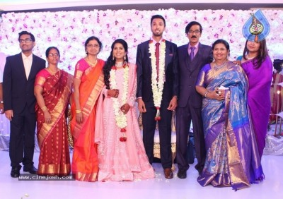 Actor Mano Bala Son Harish-Priya Wedding Reception
