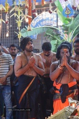 Actor Sharwanand Conduct Ayyappa Swamy Pooja At Film Nagar Temple