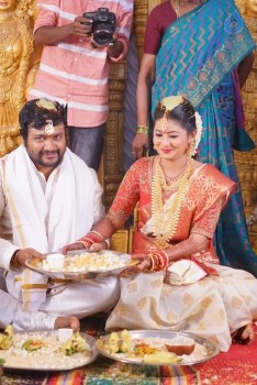 Bobby Simha and Reshmi Wedding Reception